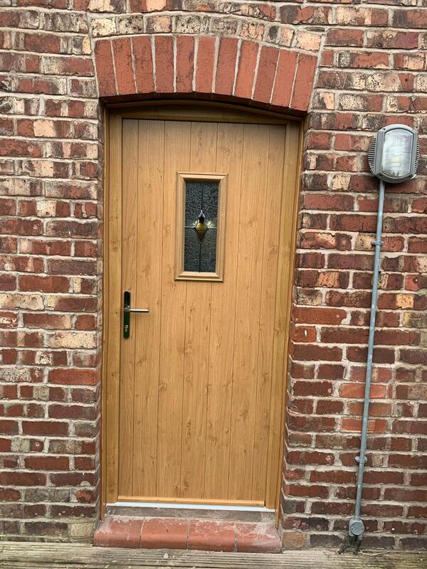Entrance Door Installation in Cheadle Hulme